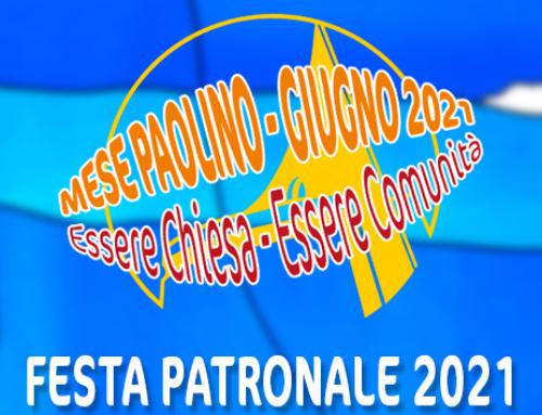 Festa Patronale 2021